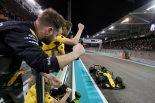 F1 | サインツJrが6位「ルノーのランキング4位獲得に貢献でき、気持ちよく去ることができる」:F1アブダビGP日曜