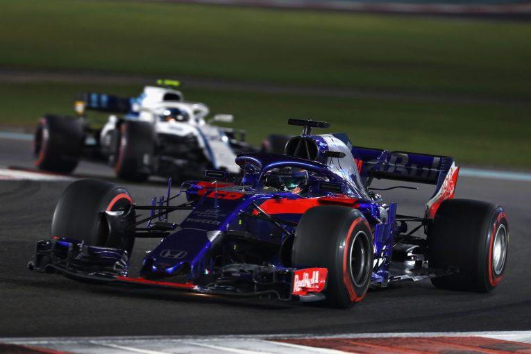 F1 | 【動画】レース序盤、ウォールにヒットしたハートレー/F1アブダビGP 決勝