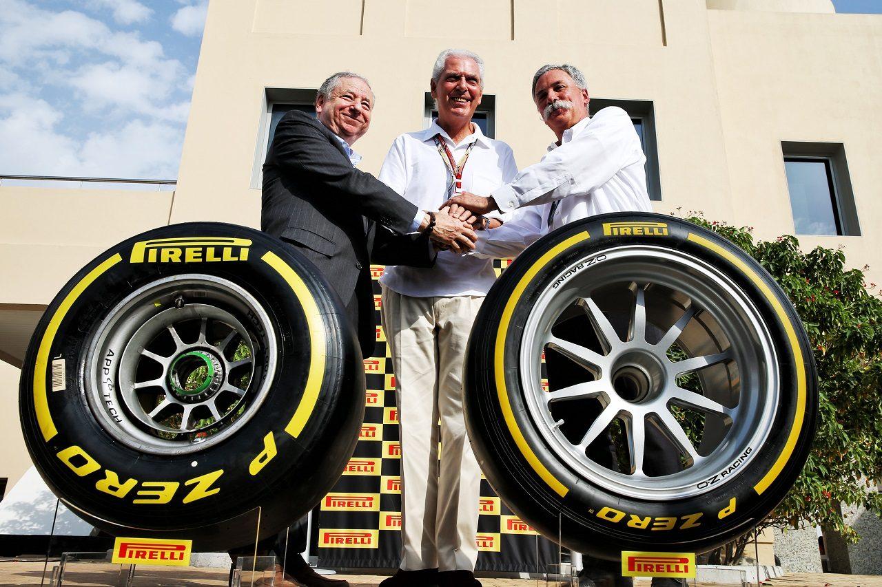 F1とピレリ、タイヤサプライヤー契約延長を発表