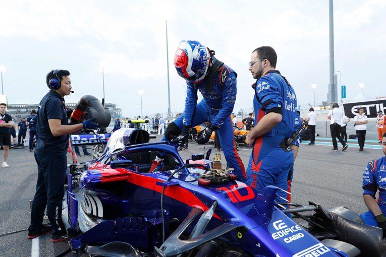 F1   トロロッソ・ホンダF1密着:10位争い中にPUトラブル、週末の悪い流れが変わらなかったガスリー