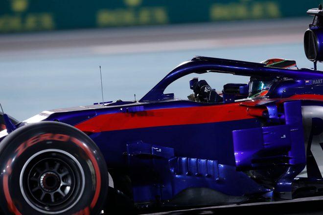 2018年F1第21戦アブダビGP ブレンドン・ハートレー