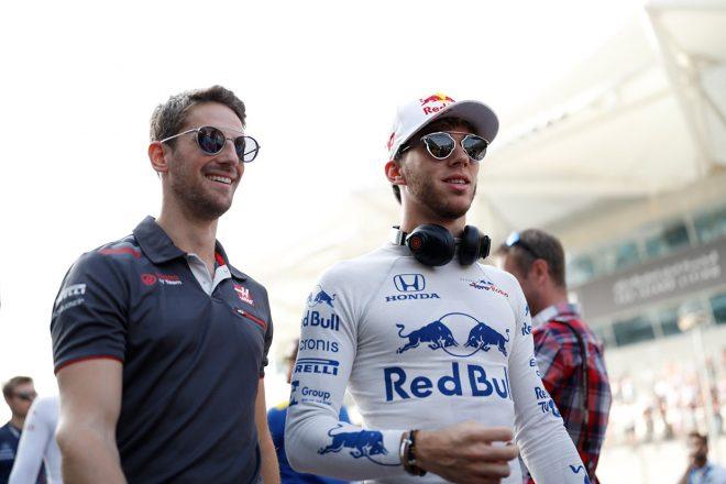 2018年F1第21戦アブダビGP ピエール・ガスリー