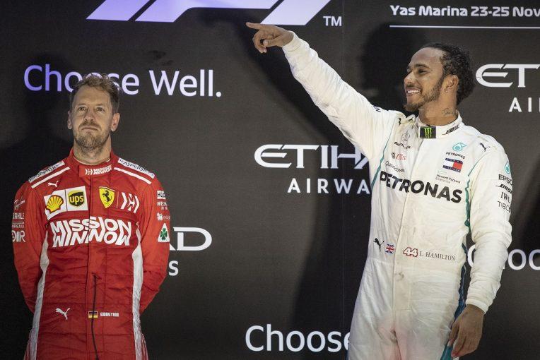 F1 | ベッテル「今シーズンの縮図のようなレース。勝てそうで勝てなかった」:F1アブダビGP日曜