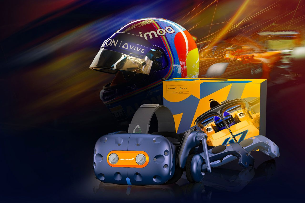 人気VRヘッドセット『VIVE』にマクラーレンF1コラボモデル登場。数量限定で価格は19万4000円