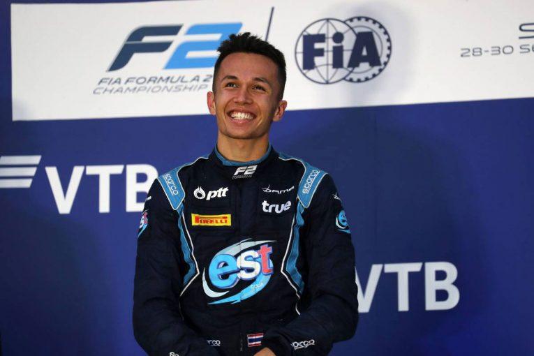 F1 | トロロッソ・ホンダがアレクサンダー・アルボンの2019年シーズン起用を正式発表