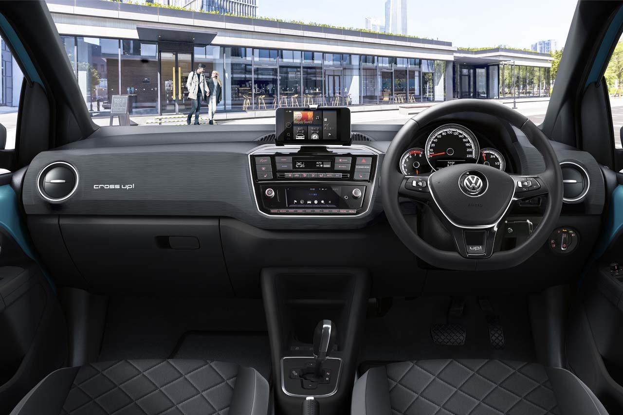 VW、スモールカー『up!』をSUV風にアレンジした『cross up!』を300台限定発売