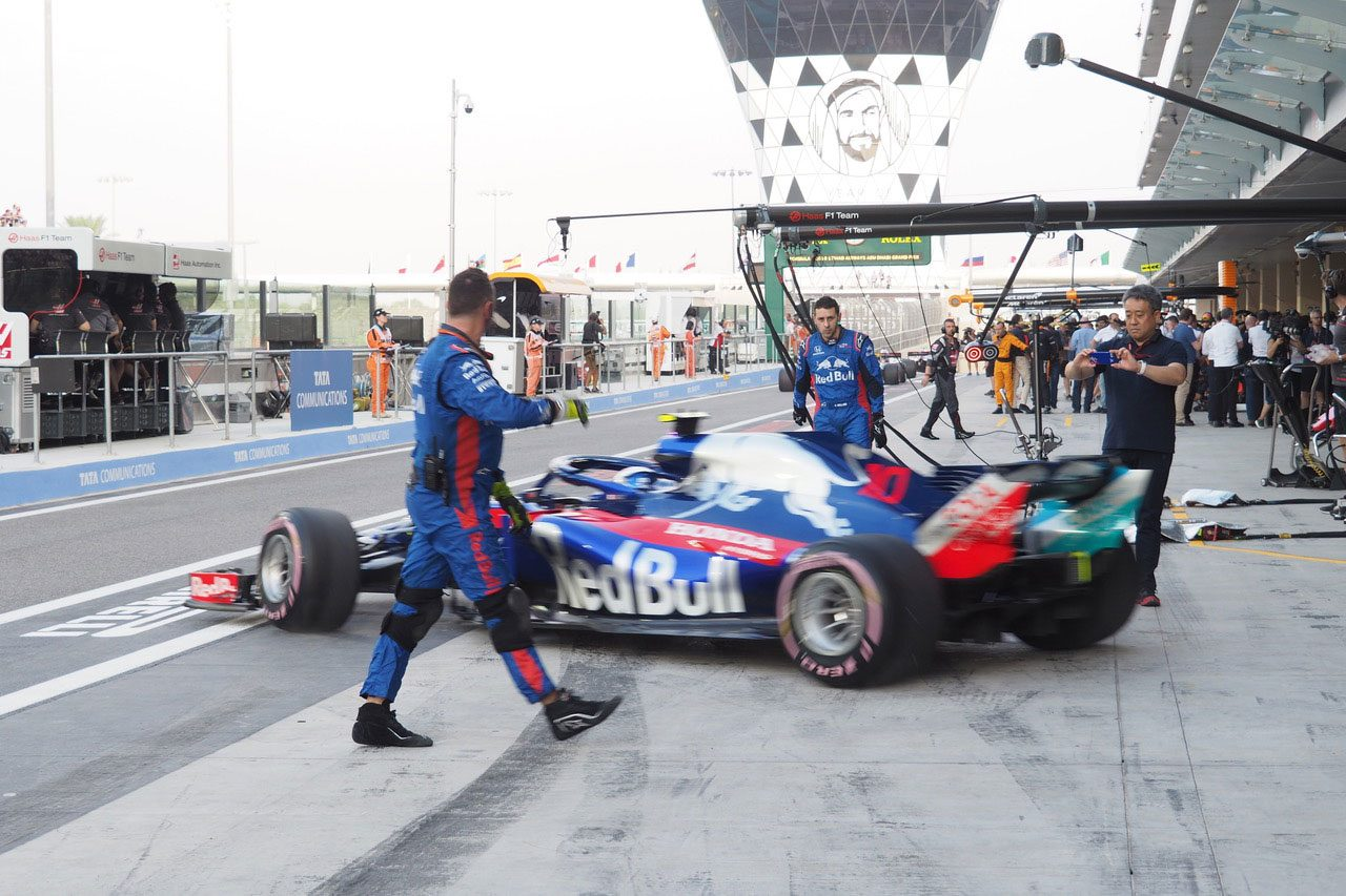F1アブダビGP現地情報2回目