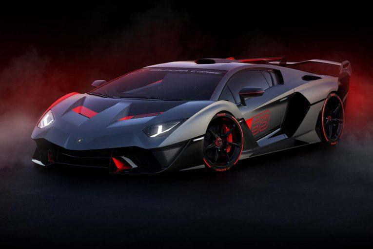 クルマ | ランボルギーニ、同社モータースポーツ部門初のワンオフモデル『SC18』を初公開