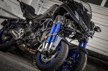 MotoGP | 衝撃の大型3輪ヤマハNIKEN。操作性はスポーツバイクそのもの/市販車試乗レポート