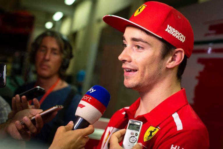 F1 | F1テストでトップタイムのルクレール、フェラーリでの初ドライブは「感動的だった」