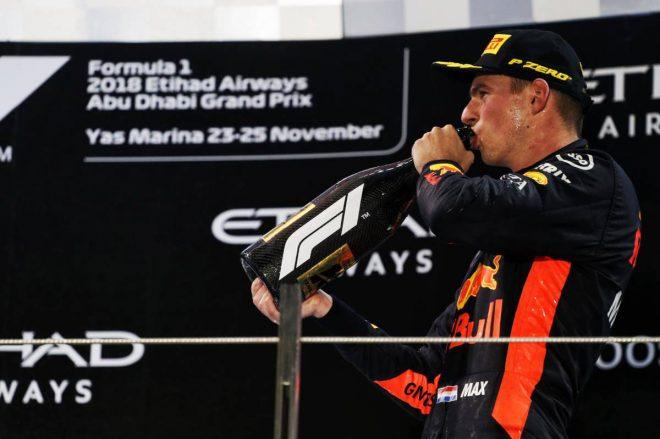 2018年F1第21戦アブダビGP マックス・フェルスタッペン
