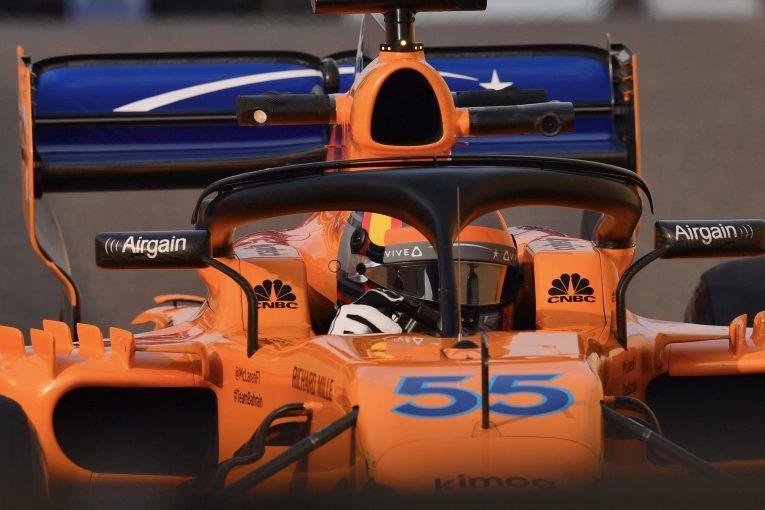 F1 | マクラーレンの一員としてF1合同テストに参加したサインツJr.「すごく良い気分だった」