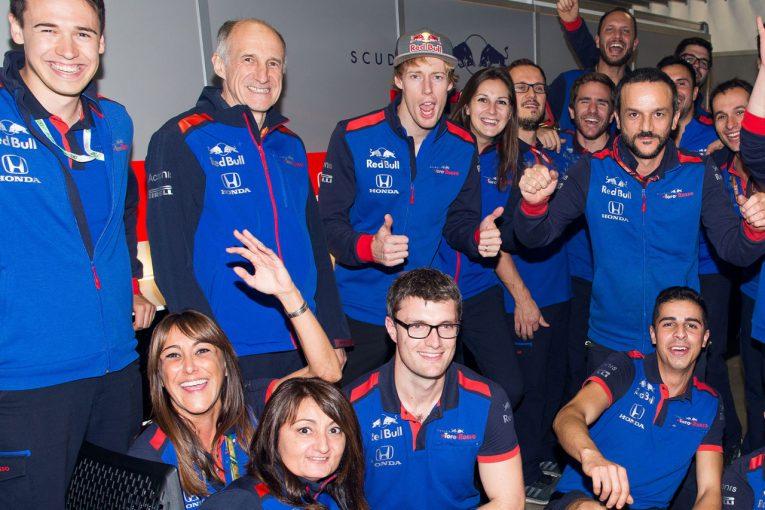 F1 | トロロッソがハートレーに別れと感謝の言葉「ホンダとのパートナーシップ進展において重要な役割を果たしてくれた」