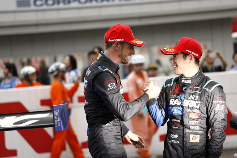 F1 | 元F1王者のバトンが山本尚貴にアドバイス「ぜひF1に挑戦を」