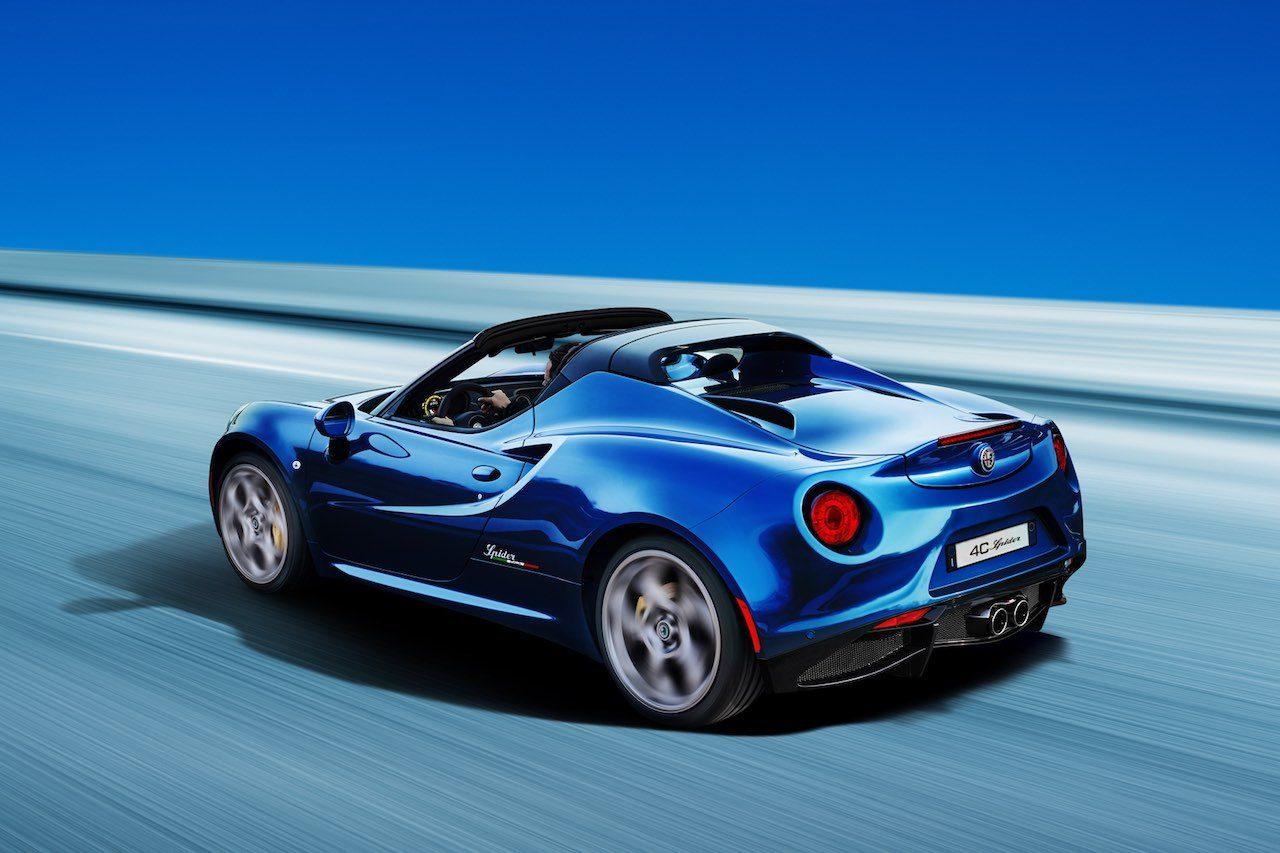 ピュアスポーツ『アルファロメオ4C』に、少量生産の希少限定車2モデルを設定