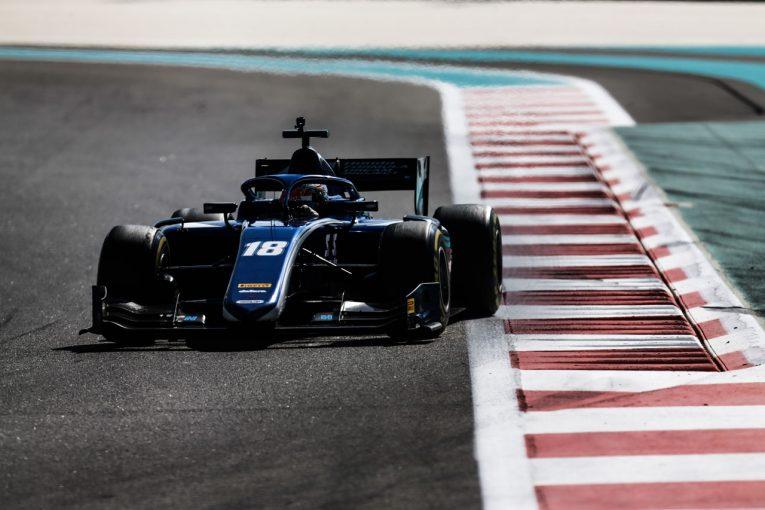 海外レース他 | 松下信治、FIA F2テストでレースペースに自信を深める。課題の予選は「これから研究」