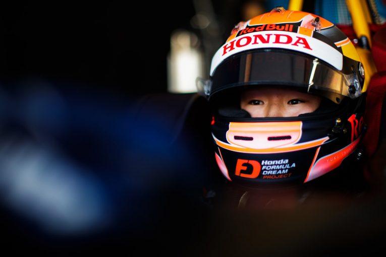 海外レース他 | FIA F3:角田裕毅、テスト最終日は2番手タイムで悔しさみせるも「2019年もこの状態なら戦える」