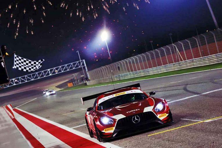 トルコ代表がドライブし初代ネイションズカップウイナーとなったラム・レーシングのメルセデスAMG GT3