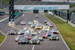 2018ブランパンGTシリーズ・アジア 鈴鹿ラウンドのレース1 スタートシーン