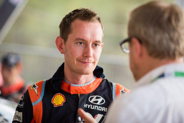 ラリー/WRC | WRC:ヒュンダイ所属コドライバー、セブ・マーシャルが2019年トヨタ加入。クリス・ミークとコンビ
