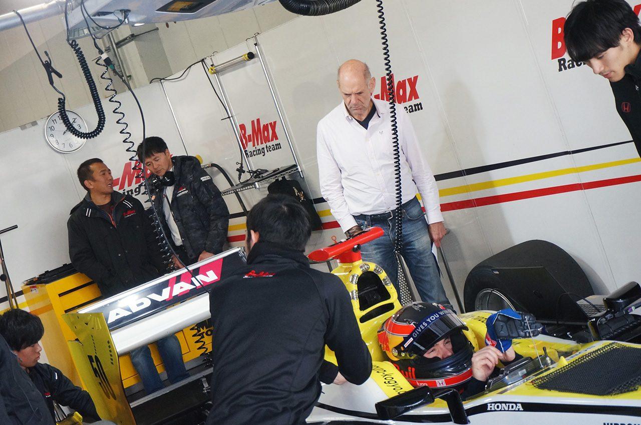 2018年スーパーフォーミュラ鈴鹿エンジンメーカー・ルーキードライバーテスト エイドリアン・ニューウェイ