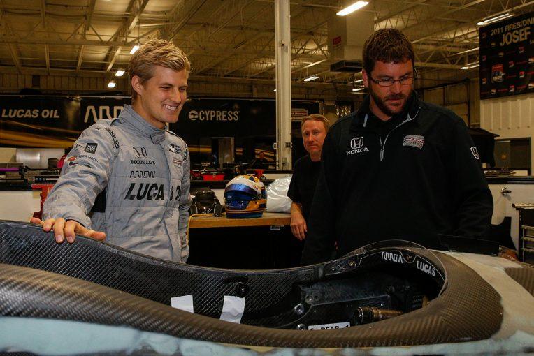 海外レース他 | インディカーを初テストしたマーカス・エリクソン「レースへの情熱が戻ってきた」