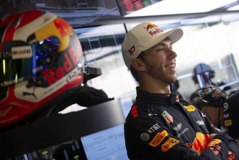 F1   ガスリー、ホンダと経験豊富なレッドブルF1のタッグに期待「競争力の高いPUを作れるはず」