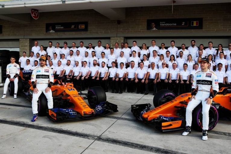 F1   2018年シーズン不振のマクラーレンF1。要因は「一貫したリーダーシップの欠如」とチーム代表