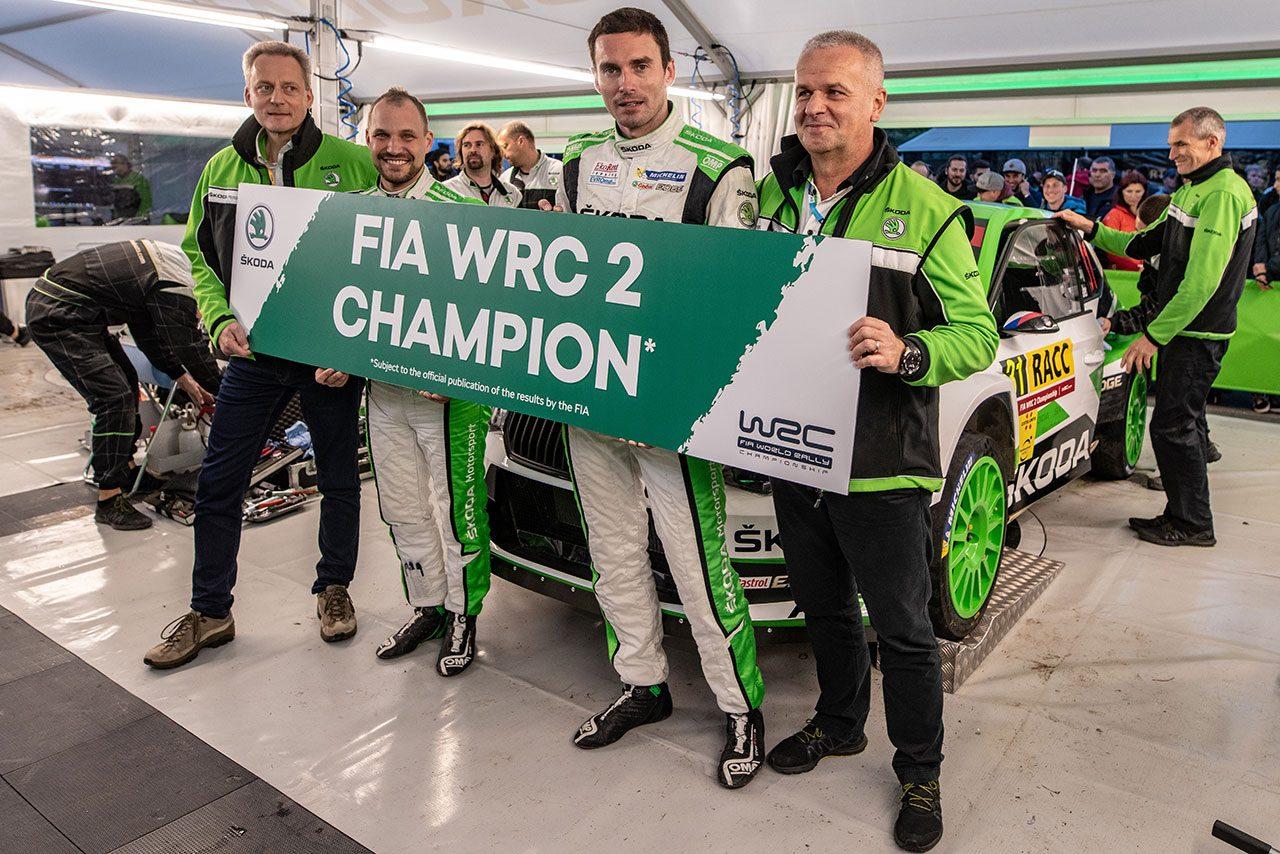 WRC:2019年新設の『WRC2プロ選手権』概要発表。1チーム最大2台、王座は8戦の有効ポイント制