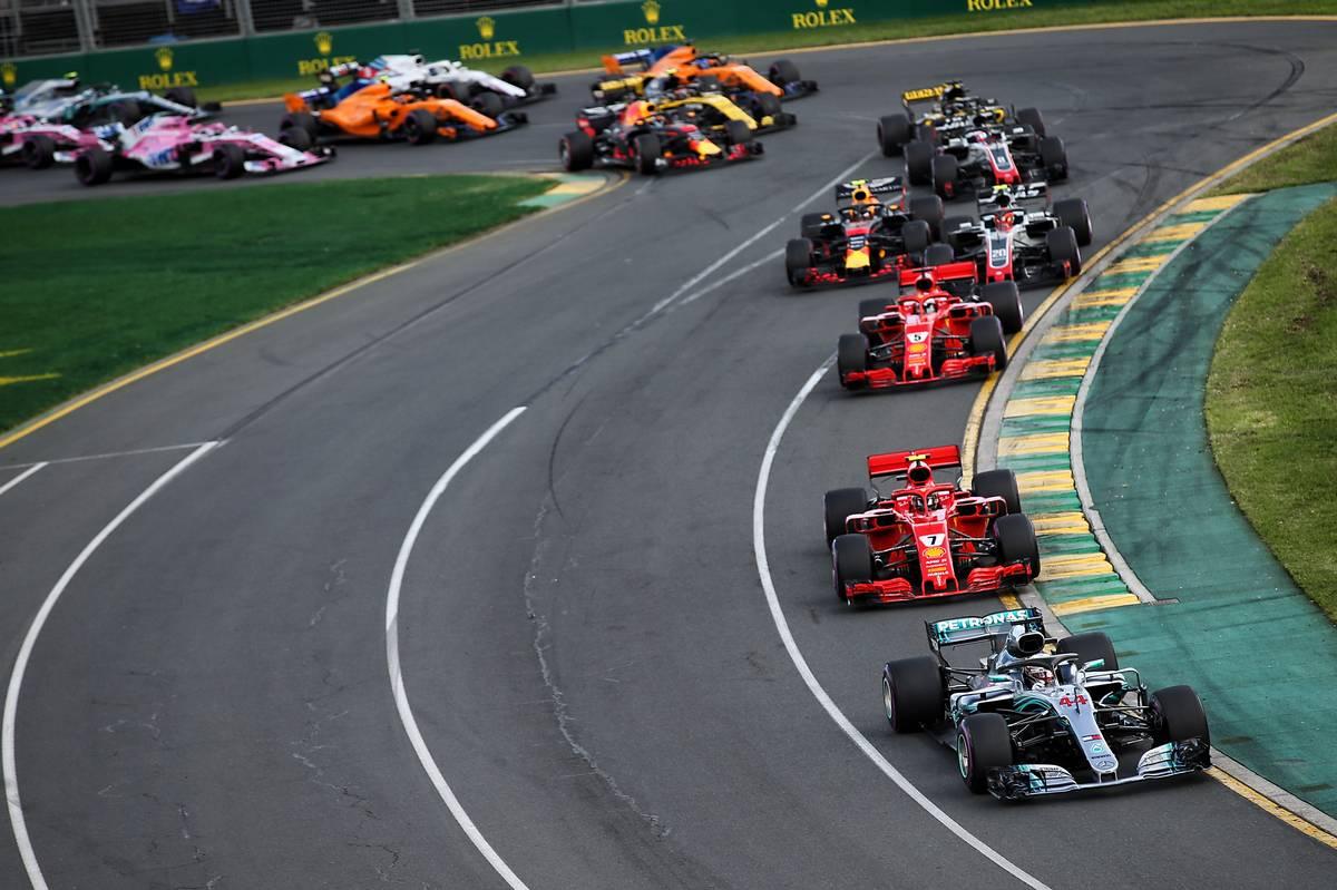 2018年F1第1戦オーストラリアGP