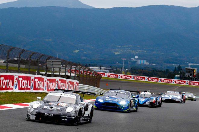 フェラーリ488 GTE、ポルシェ911 RSR、アストンマーチン・バンテージが参戦するWECのLM-GTEアマクラス