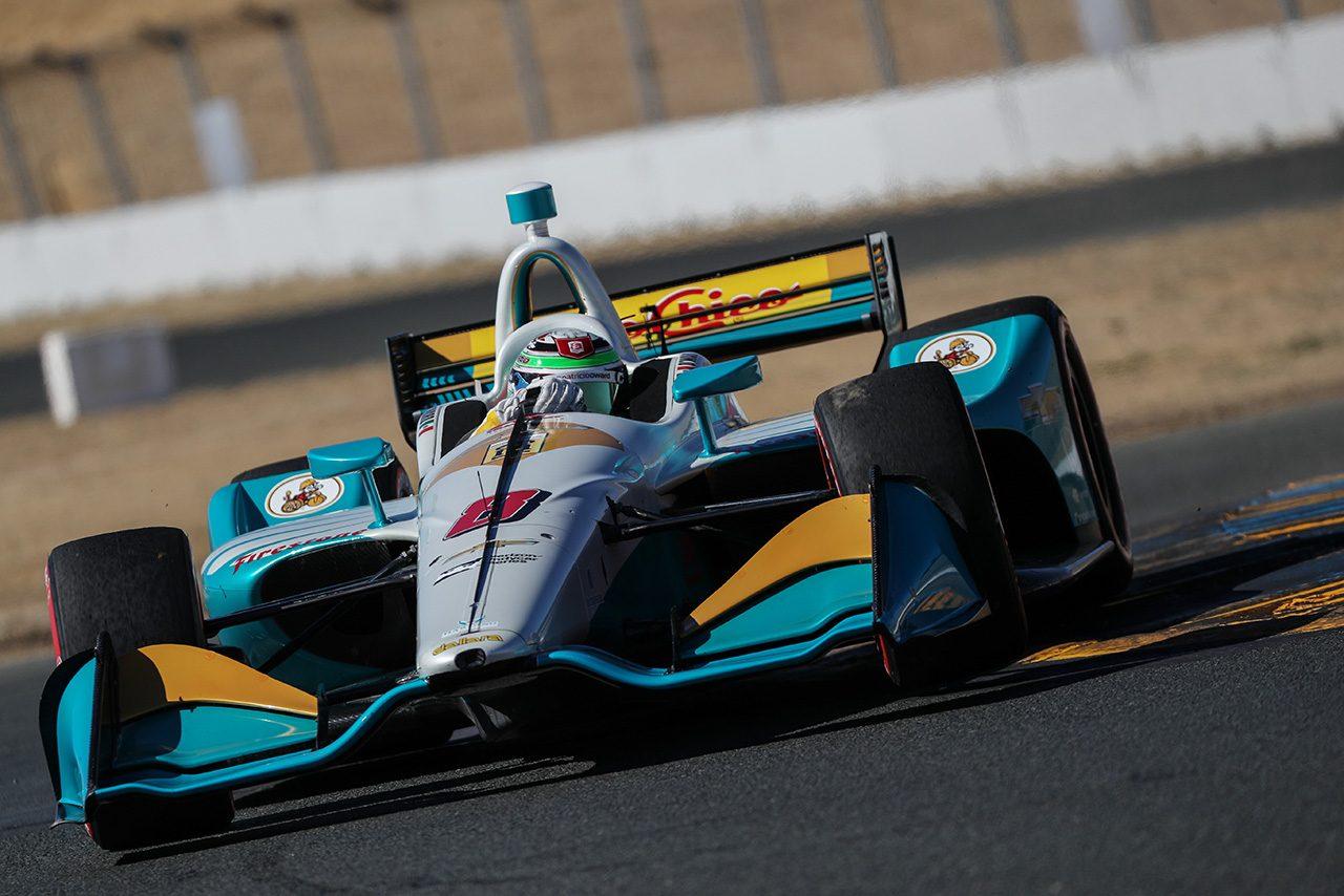 インディカー:ルーキーコンビで参戦するハーディング・スタインブレナー・レーシングがホンダエンジンにスイッチ