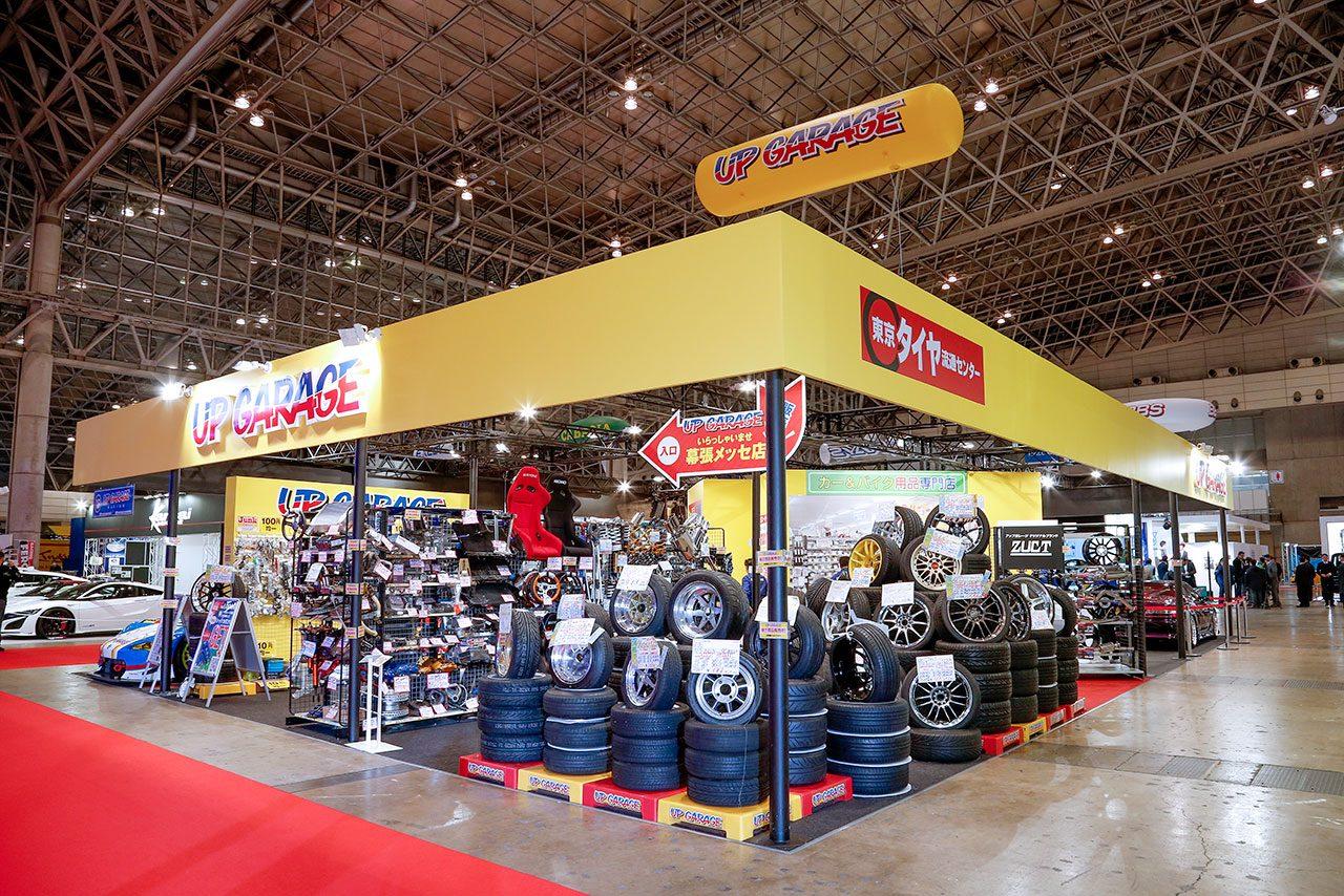 アップガレージ、東京オートサロン2019に出展。スーパーGT戦ったTEAM UPGARAGEトークショーも