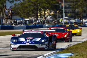 北米のIMSAシリーズにフル参戦しているフォード、ポルシェ、BMWはセブリングでの戦い方を熟知している