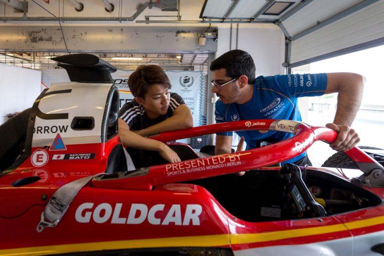 海外レース他 | FIA F2:アブダビテストで「現実をつきつけられた」佐藤万璃音。一方で成長ぶりも示す