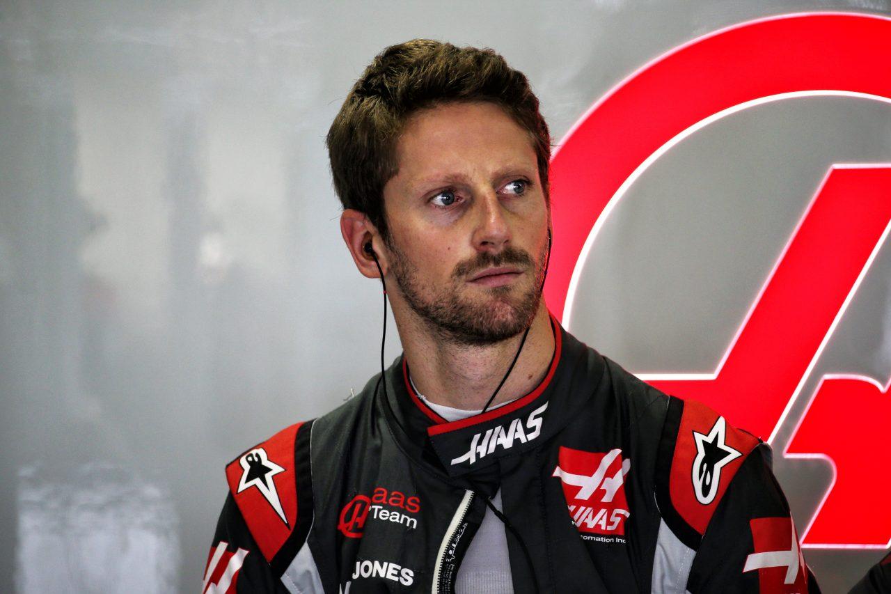 2018年F1ブラジルGPでのグロージャン