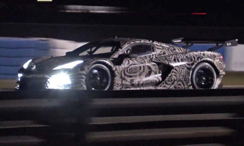 ル・マン/WEC | 【動画】セブリングで新型シボレー・コルベットがテスト実施。GTE規定の『C8.R』か