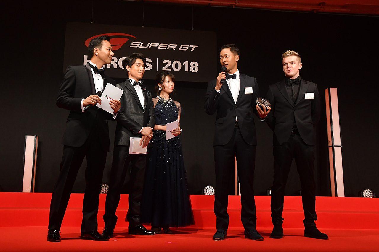 毎年恒例スーパーGT表彰式『SUPER GT HEROES』開催。関係者が一年をねぎらう