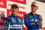 ホンダ・レーシング・サンクスデー2018でスーパーGT500を本格ドライブした佐藤琢磨とピエール・ガスリー