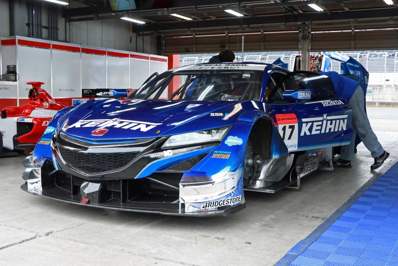 GT500クラスのホンダNSX-GT