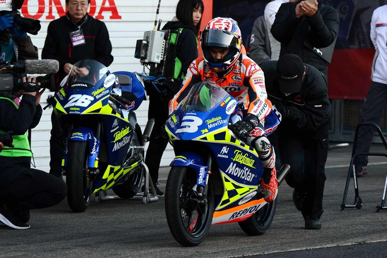 歴代MotoGPマシンを走らせたペドロサ「素晴らしい18年間だった」。最後のホンダサンクスデーでファンに感謝