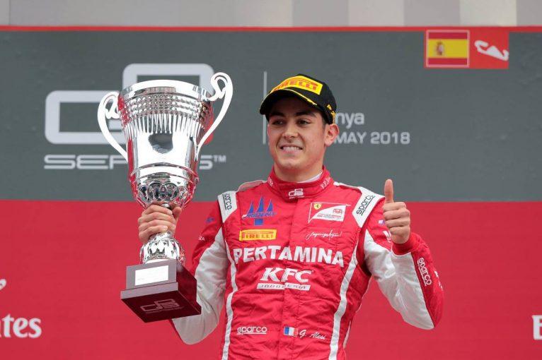 海外レース他 | FIA F2:ジュリアーノ・アレジが参戦へ。「新しい章の幕開けに興奮している」