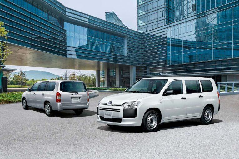 クルマ | 『トヨタ・プロボックス』系にハイブリッド・モデルを追加。先進安全装備も強化