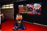今季のMotoGPチャンピオン、マルク・マルケスのホンダRC213V
