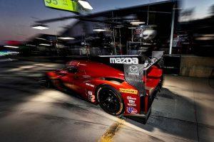 IMSAウェザーテック・スポーツカー・チャンピオンシップに参戦する55号車マツダRT24-P