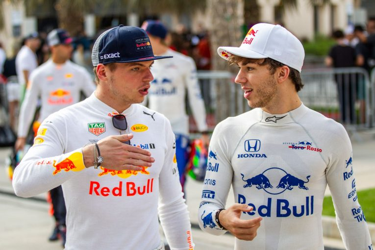 F1 | ガスリー「フェルスタッペンのチームメイトになることを恐れてはいない」