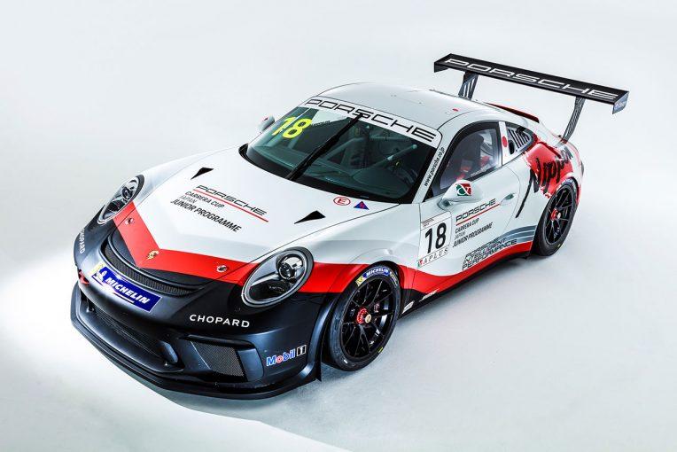 2019年のポルシェカレラカップジャパン スカラシップドライバー選出オーディションが行われる