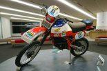 1982年のダカールラリーで初優勝を挙げたホンダXR500R