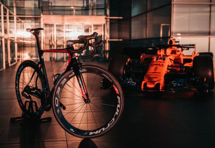 マクラーレンは自転車競技に参入することを発表した