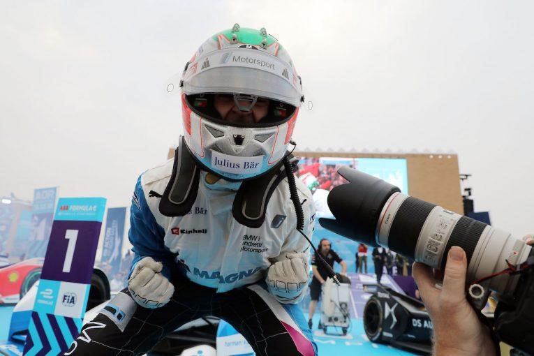 海外レース他 | フォーミュラE:BMW、ワークス参戦初戦で勝ち星。「2018年を最高の形で締めくくることができた」